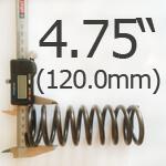 4.75 Inch Outside Diameter Ford Escort Type Spring