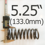 5.25 Inch Outside Diameter Ford Escort Type Spring